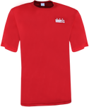 Core Logo Stars & Stripes Logo Athletic Tee - Red