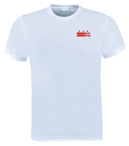 Youth Core Logo Stars & Stripes Athletic Tee - White