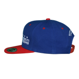 Core Logo Stars & Stripes Flat Brim Snapback - Royal & Red