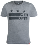 Core Logo Stars & Stripes Tee - Grey