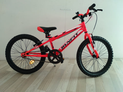 BICICLETA RUNFIT  ORANGE FLUOR