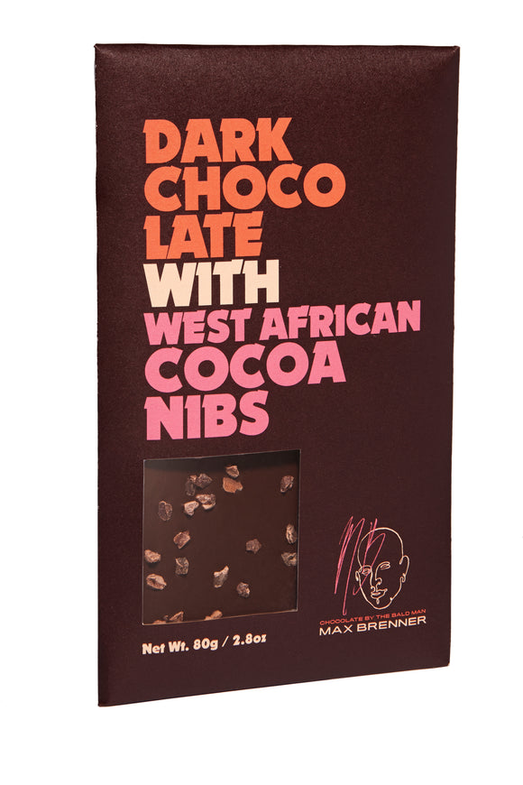 Tablet – Dark with Cocoa Nibs (80g)