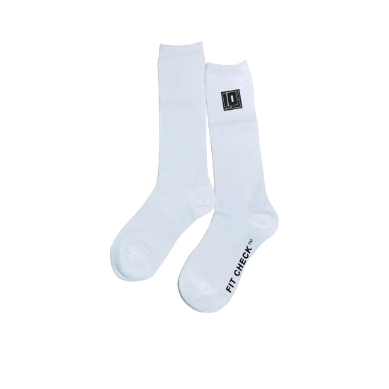 Fit Check™ Socks (White)