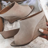 Sofiawears Nude Wedge