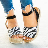 Sofiawears New Neutral Bow Wedge Sandals