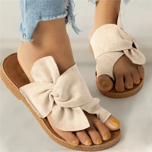 Sofiawears Women Casual Daily Comfy Slip On Sandals