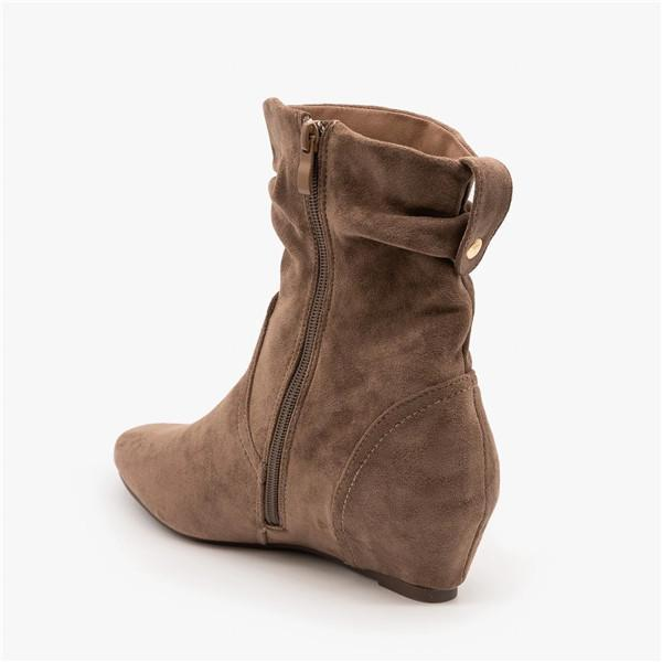 Sofiawears Warm Zipper Booties