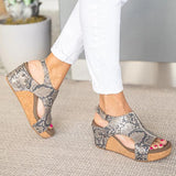 Sofiawears Women Fashion Comfy Wedges