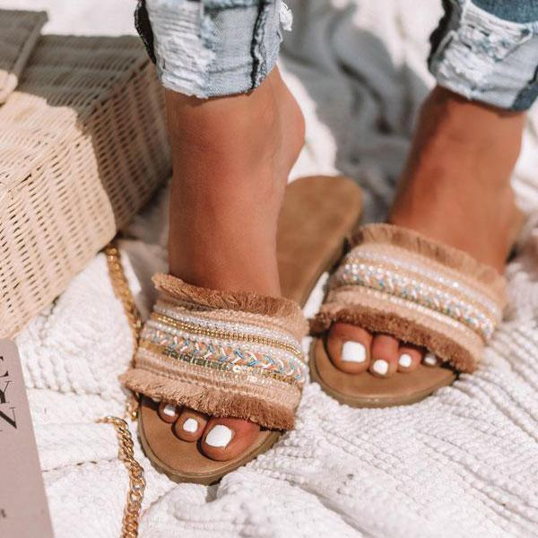 Sofiawears Casual Daily Flat Slippers