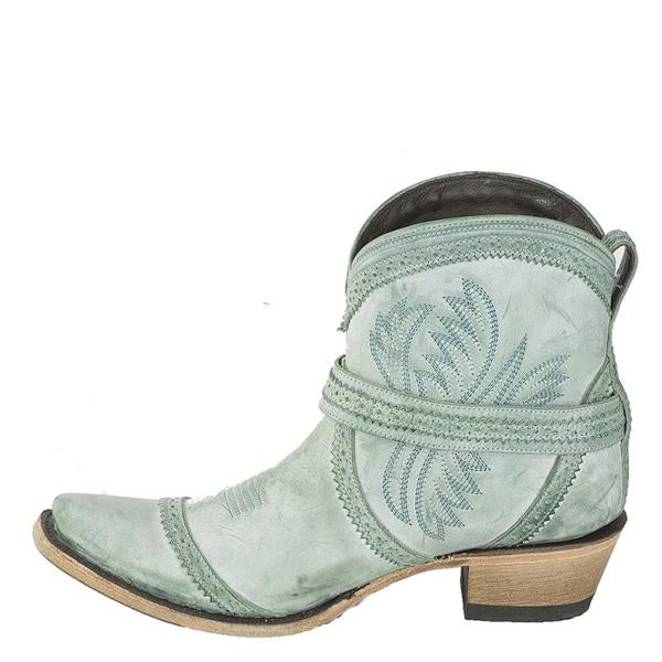 Sofiawears Ladies Embroidery Fashion Booties