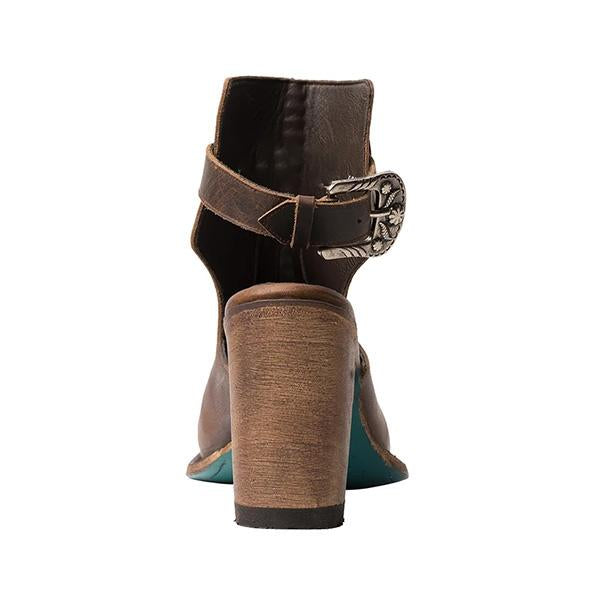 Sofiawears Buckle Strap Ankle Boots High Heel Booties