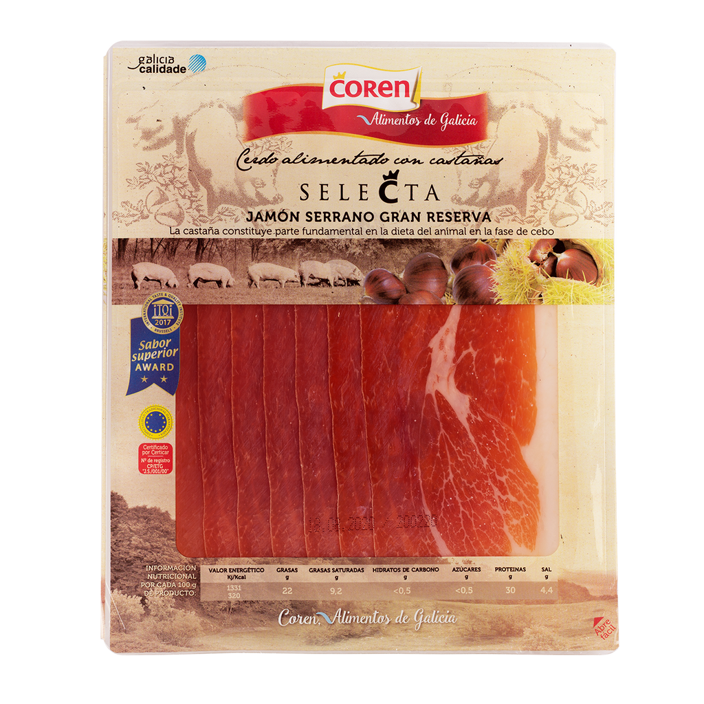 Coren Selecta Sliced Ham  Deli, Ham Deli Magnificent Marrow