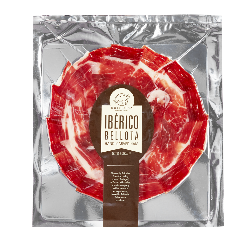 Senorio Iberico Bellota Hand-Carved Ham  deli, Ham Deli Magnificent Marrow