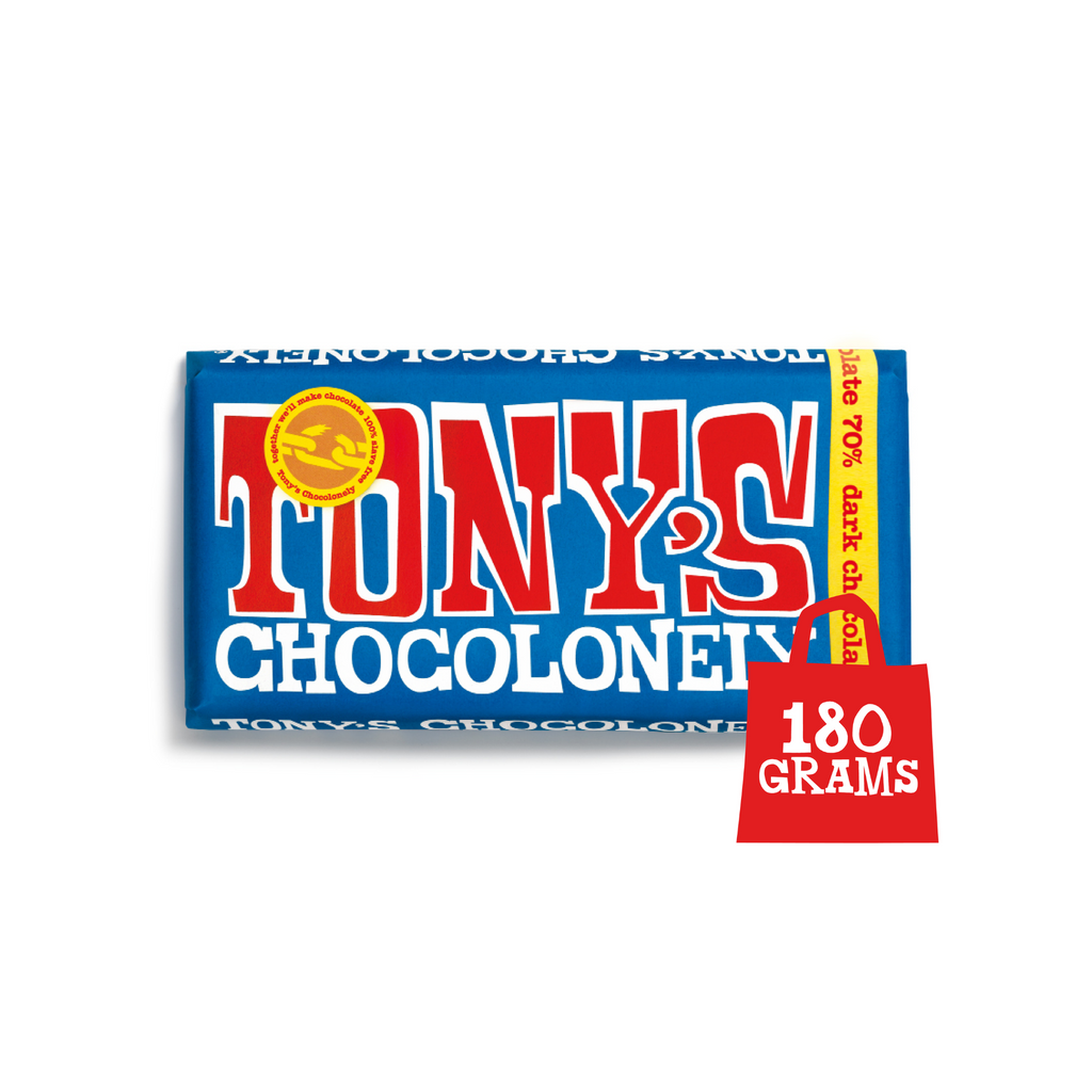 Tony's Chocolonely Extra Dark Chocolate 70%  chocolate, Sweet Shop Sweet Shop Magnificent Marrow