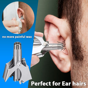 Ear and Nose Hair Manual Trimmer