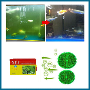 Aquarium purifier eco powder