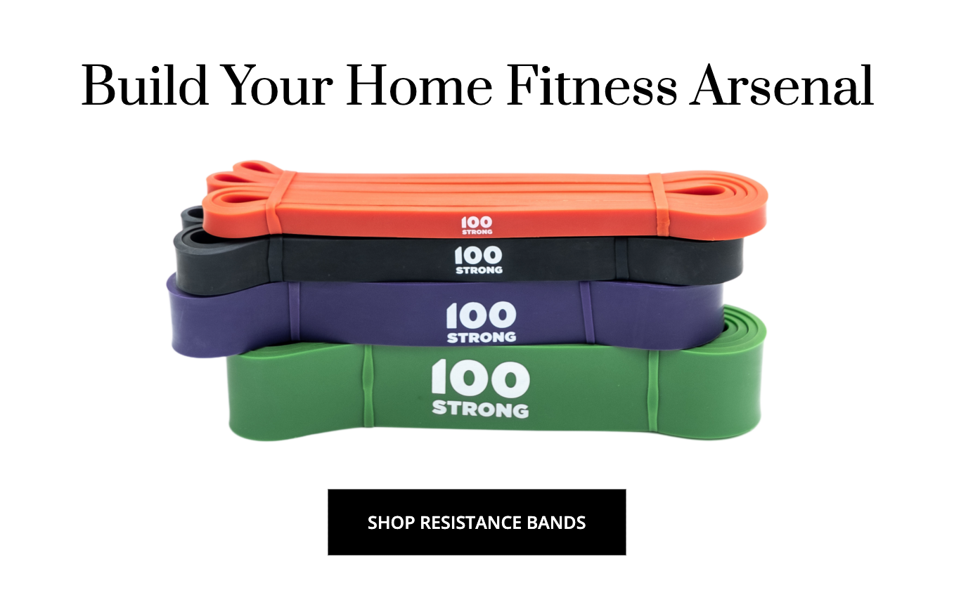 100Strong resistance bands