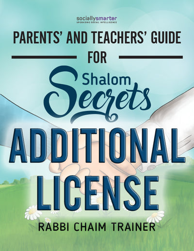 Parents' and Teachers' Guide for Shalom Secrets: Additional Licenses
