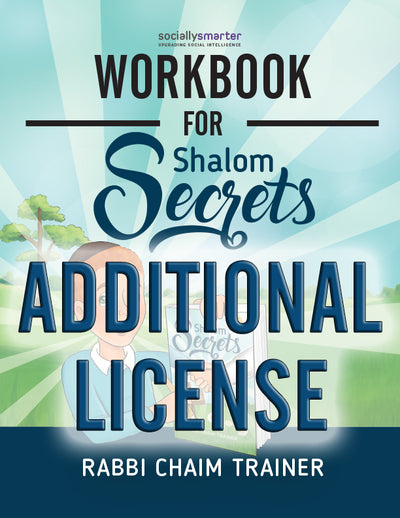 Workbook for Shalom Secrets: Additional Licenses