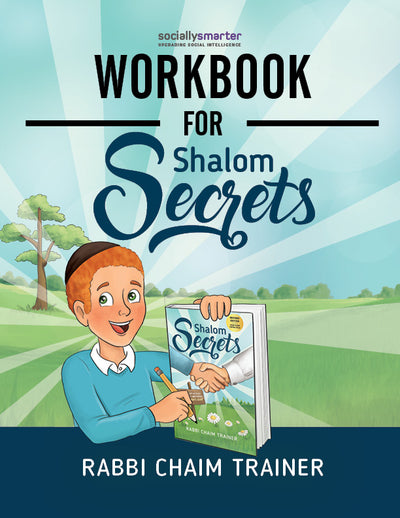 Workbook for Shalom Secrets, Boys' Version, Digital Download (PDF)
