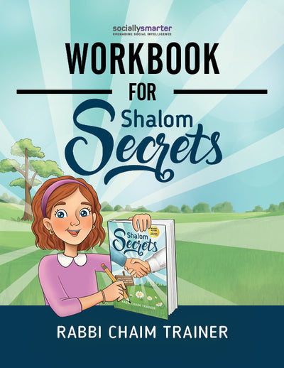 Workbook for Shalom Secrets, Girls' Version, Digital Download (PDF)