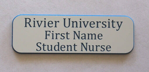 Rivier University Student Nurse Badge