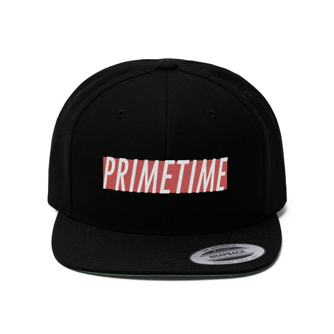 PrimeTime Red Tag Unisex Flat Bill Hat