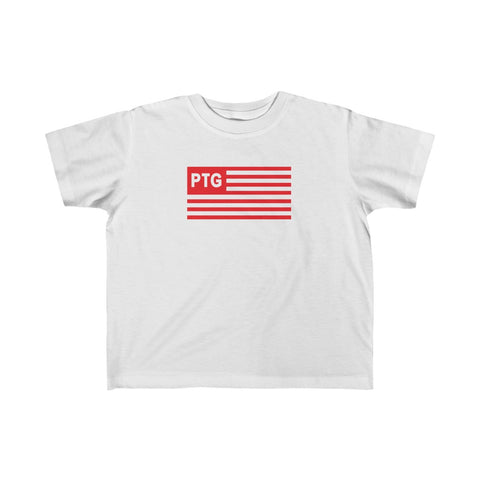 Kid's Fine PTG Red Flag Jersey Tee