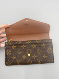 Louis Vuitton NM Sarah wallet monogram