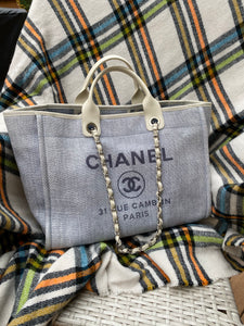 Chanel Deauville Large Chain tote