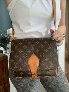 Louis Vuitton Cartouchiere PM monogram crossbody