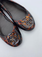 Load image into Gallery viewer, Tory Burch Reva Leopard flats