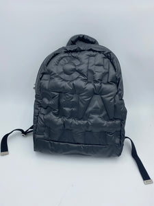 Chanel DouDoune Black Backpack