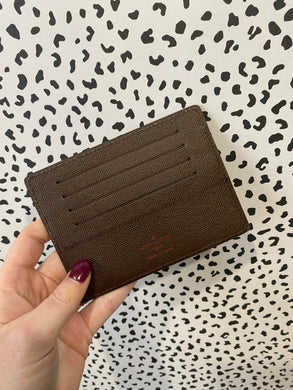 Louis Vuitton Credit card holder ebene