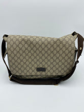 Load image into Gallery viewer, Gucci GG Plus Supreme diaper bag