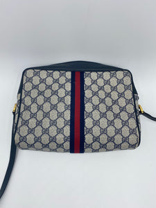 Gucci Vintage Web GG camera bag