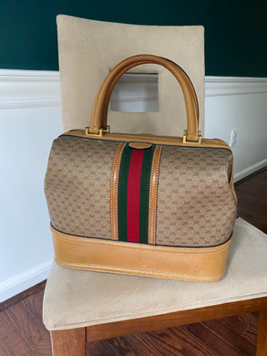 Gucci Vintage Micro Web Travel case