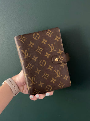 Louis Vuitton Agenda MM monogram