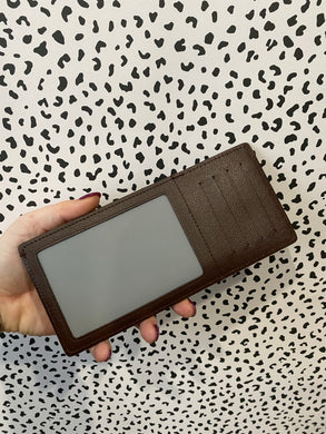 Louis Vuitton Card and photo holder ebene