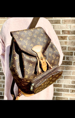 Louis Vuitton Montsouris GM backpack monogram