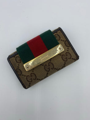 Gucci Vintage Web key holder