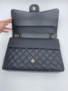 Chanel Maxi Black Caviar Double flap bag