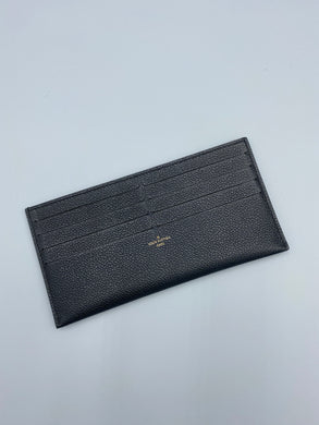 Louis Vuitton credit card pouch black