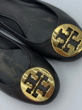 Load image into Gallery viewer, Tory Burch Reva Brown flats