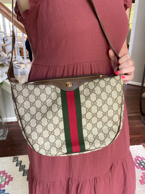 Gucci Vintage Web Shoulder bag