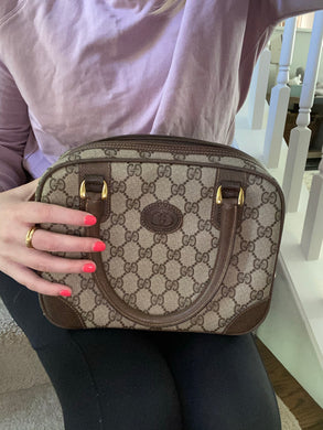 Gucci Vintage small Boston bag