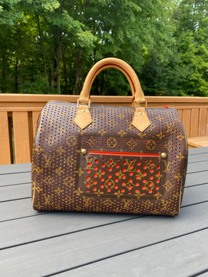 CLouis Vuitton Limited Edition Speedy 30 Perforated monogram