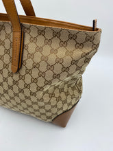Load image into Gallery viewer, Gucci Web Canvas Original tote
