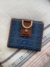 Load image into Gallery viewer, Gucci D-Ring Denim wallet