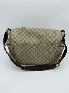 Gucci GG Plus Supreme diaper bag